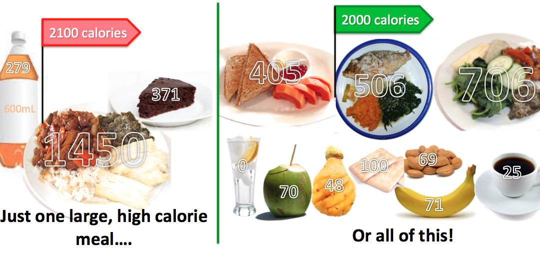How Much Food Should I Eat At Each Meal