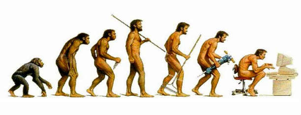 Evolution of Man_Sedentary