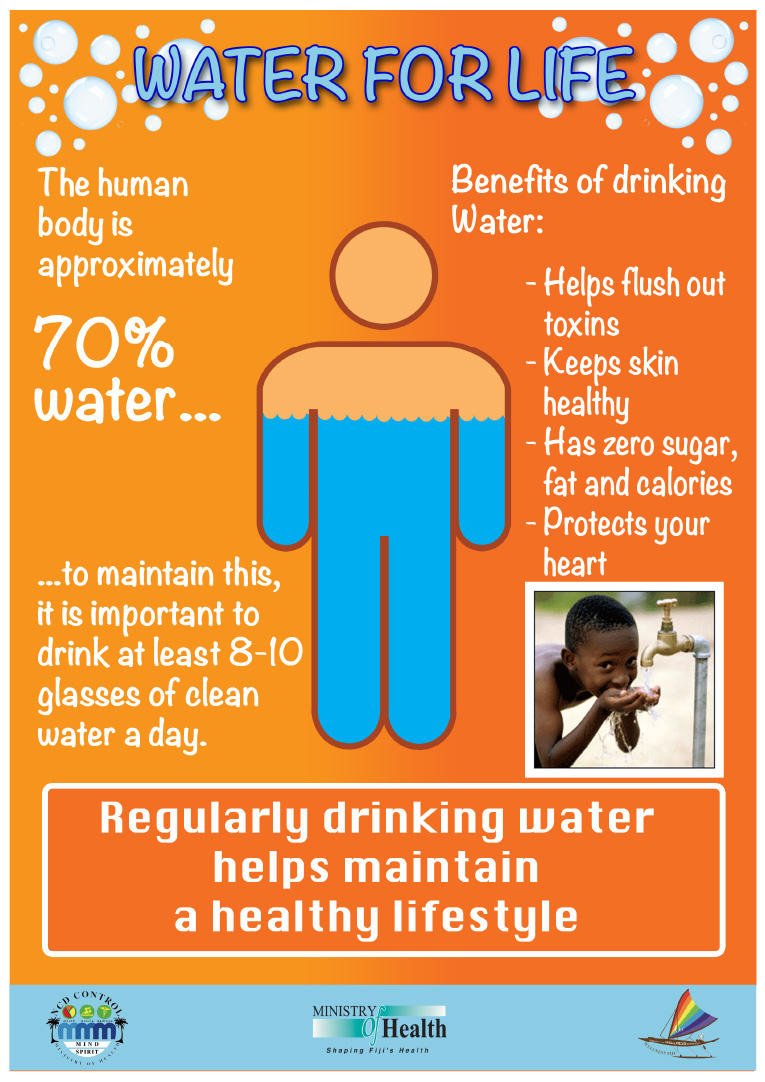stay hydrated | ministry of health and medical services
