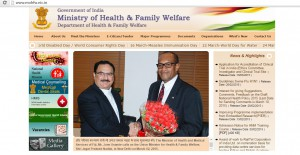 Honorable Minister of Health of Fiji – Mr. Jone Usamate with Union Minister for Health of India – Shri. Jagat Prakash Nadda