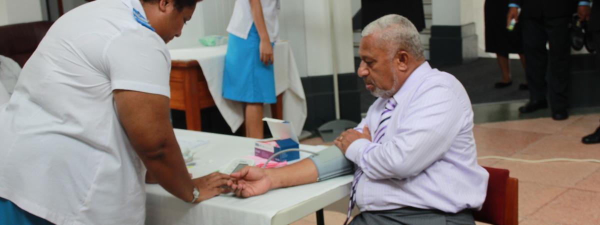 medical check up at Parliament house.